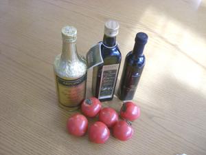 オリーブ油&トマト